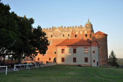 Golub's castle, built by the Teutonic Knights in years...