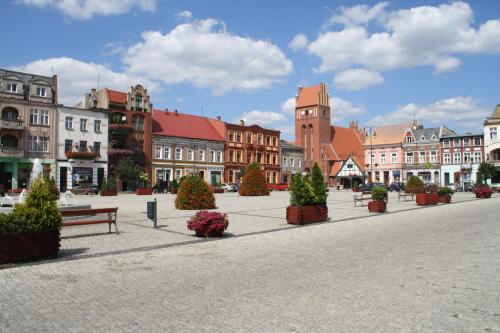 The Market Square of Golub, photo: Marcin Nowak