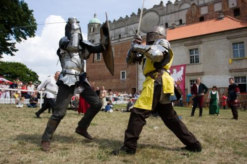 The National Knight Tournaments at the Golub castle,...