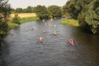 Kayaking on Drwęca River